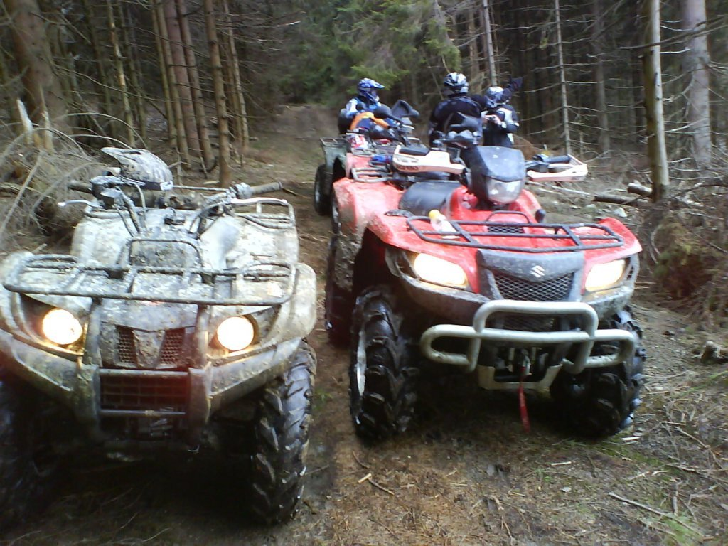 Grizzly 450 Camo a Suzuki King Quad 700