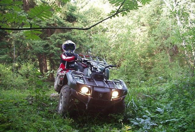 Moja Grizzly 450 a ja