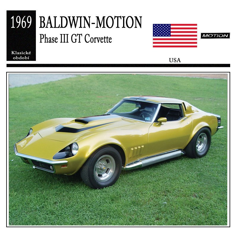 Baldwin-Motion Phase III GT Corvette