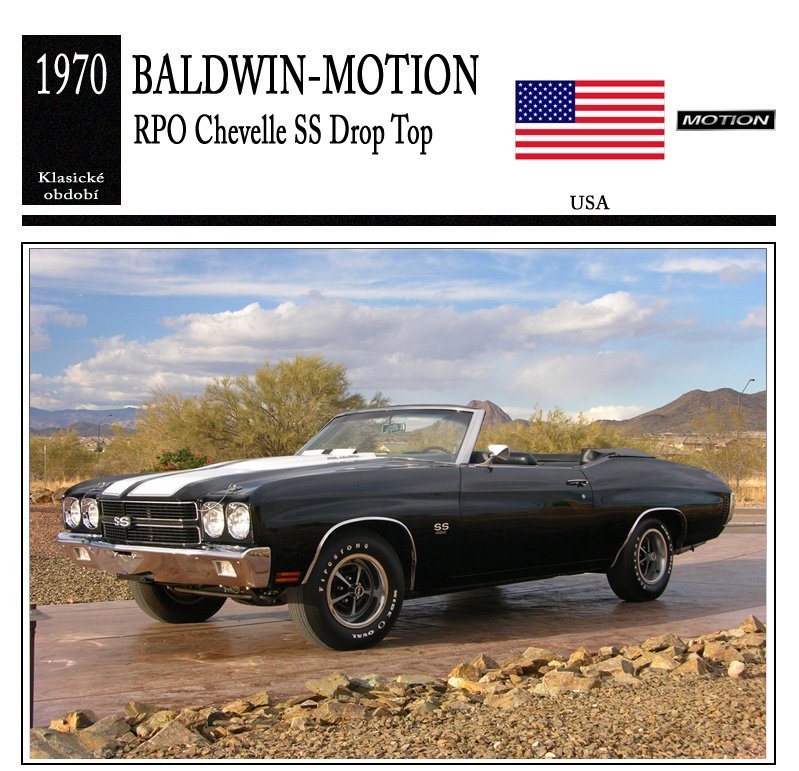 Baldwin-Motion RPO Chevelle SS Drop Top