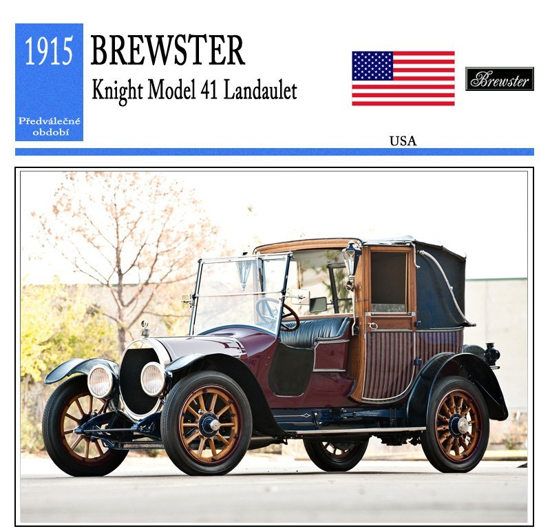 Brewster Knight Model 41 Landaulet