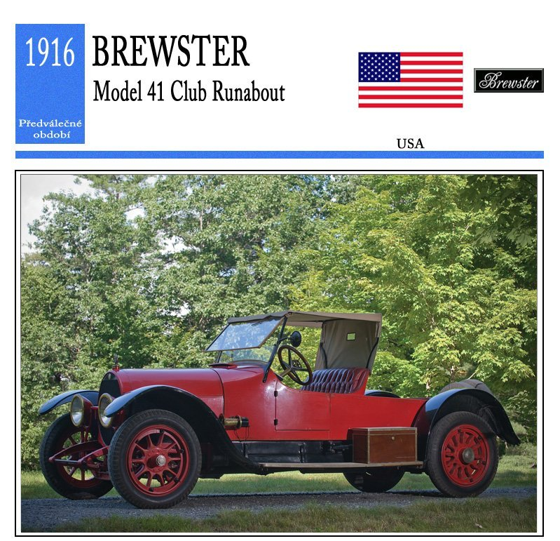 Brewster Model 41 Club Runabout