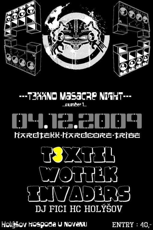 !!!TEKNO MASACRE NIGHT!!!