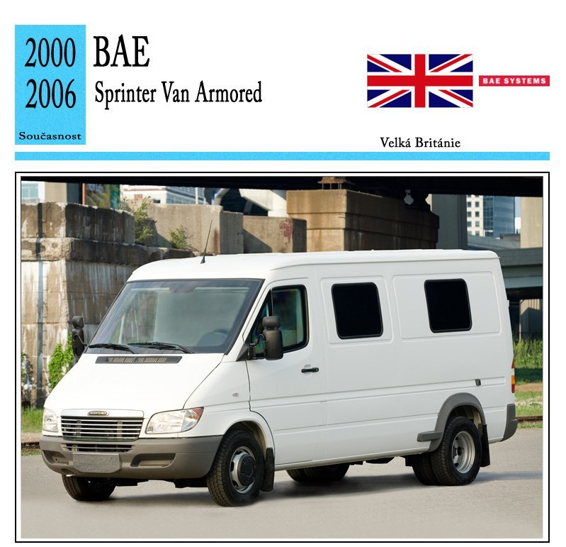 BAE Sprinter Van Armored