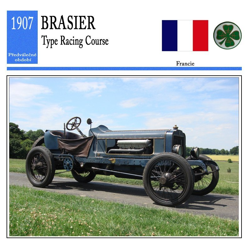 Brasier Type Racing Course