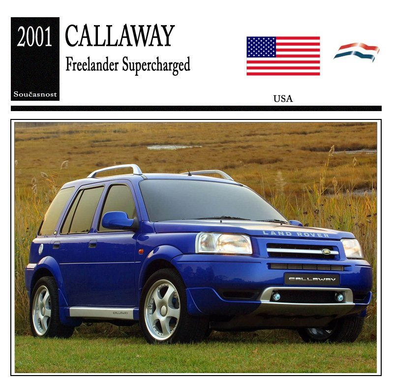 Callaway Freelander Supercharged