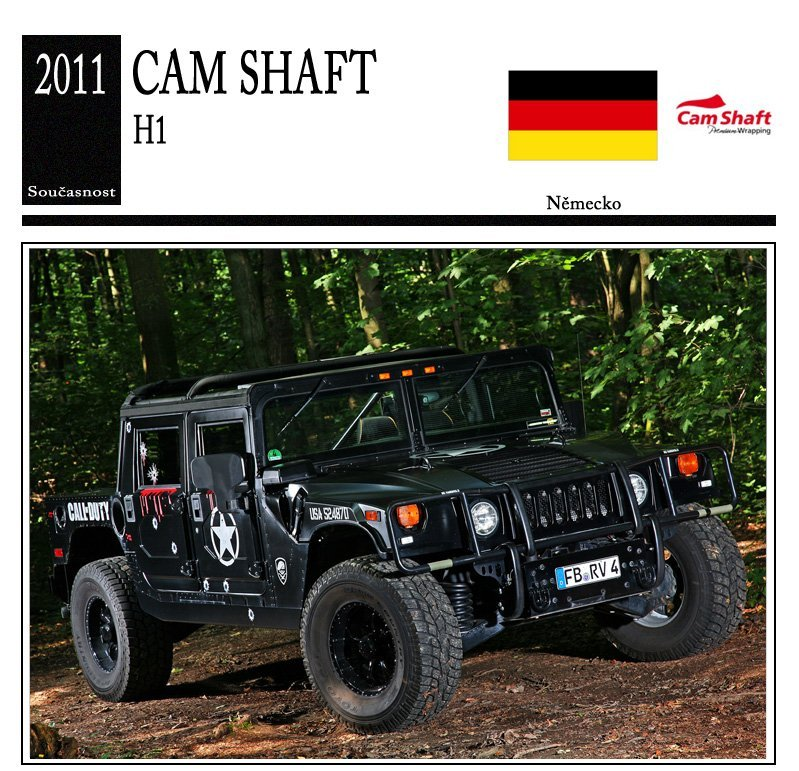 Cam Shaft H1