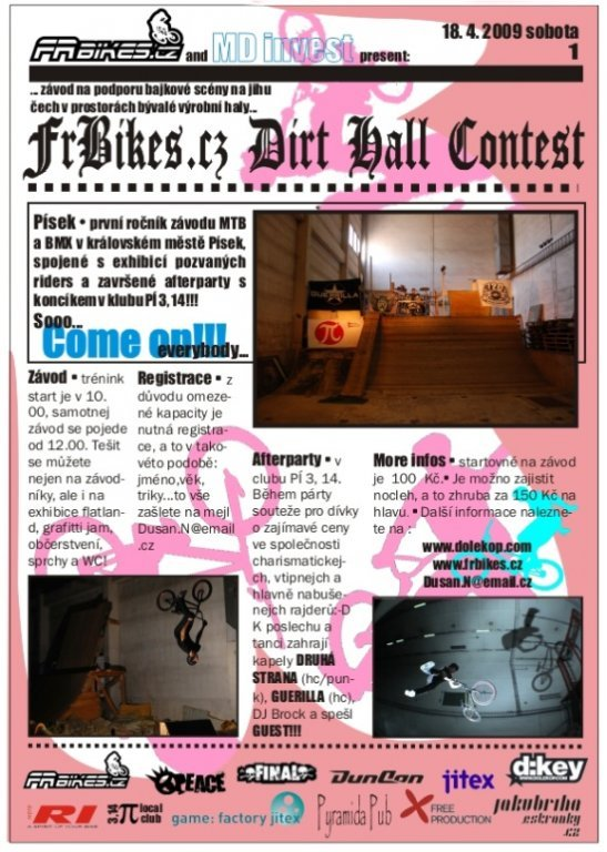 Dirt hall contest